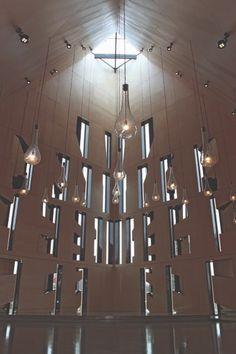 Våler Kirke – Trysil Interiørtre AS Kirkenes, Chandelier, Ceiling Lights, Lighting, Home Decor, Design, Waltz Dance, Candelabra, Decoration Home