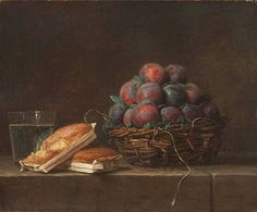 Anne Vallayer-Coster Basket of Plums 1769