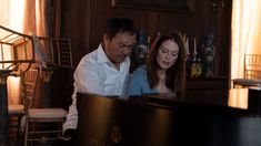 'Bel Canto' starring Julianne Moore and Ken Watanabe, and based on the book by Ann Patchett, hits theaters this September. Watch the trailer. Julianne Moore, Hd Movies, Movies To Watch, Movies Online, Peliculas Online Hd, Avengers Film, The Last Samurai, Soprano, Memoirs Of A Geisha