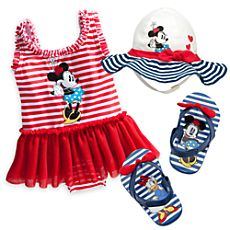 Minnie Mouse Deluxe Swim Collection for Baby