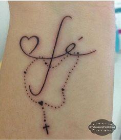 Tattoo enviada pela Seguidora: @Mapaggiaro . ℐnspiração 〰 ℐnspiration . #tattoo #tattoos #fe #fé #Faith #tatuagem #tatuaje #ink #tattooed #tattooedgirls #TatuagensFemininas