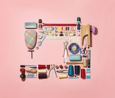 SHAPES: Sewing Machine - props and styling by Beverly James Neel