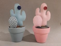 Mis cactus eternos - Comunidad Leroy Merlin Easy Felt Crafts, Felt Diy, Diy And Crafts, Cactus Craft, Cactus Decor, E Craft, Craft Gifts, Cute Sewing Projects, Sewing Crafts