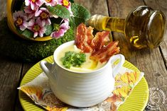 kuchnia w czekoladzie: Kremowa zupa chrzanowa