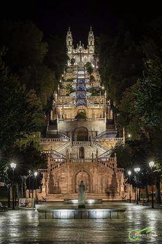 .Santuário de Nossa Senhora dos Remédios, Lamego, Portugal°°