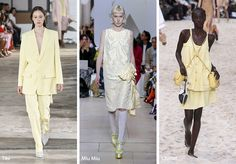 Find below the top 25 spring/ summer 2019 color trends, including the Pantone spring 2019 colors and other favorite shades of the designers! Autumn Fashion Women Fall Outfits, Summer Fashion For Teens, Summer Fashion Outfits, Summer Dresses For Women, Women's Fashion Dresses, Fashion Spring, Ladies Dresses, Fashion Over, Boho Fashion