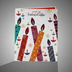 Diwali Homemade Greeting Cards Ideas_1