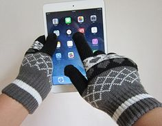 ULIKE Touch Screen Gloves (Black) http://www.amazon.com/gp/product/B00Q6XP5AU/ref=as_li_tl?ie=UTF8&camp=1789&creative=9325&creativeASIN=B00Q6XP5AU&linkCode=as2&tag=suprmariprod-20&linkId=OSP3MZUWJWR7O7DN