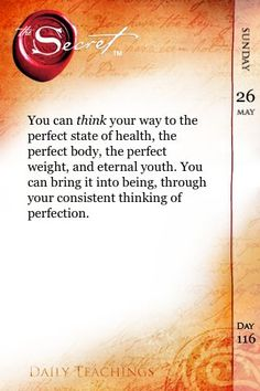 Thoughts become things! Think now how great your body is and you WILL have it! =)
