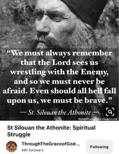 Catholic Quotes, Religious Quotes, Favorite Book Quotes, Best Quotes, Famous Sayings, Holy Holy, Saint Quotes, Orthodox Christianity, Spiritual Wisdom