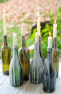 #vela #garrafa #candle #bottle
