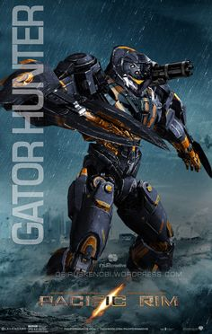 CUSTOM JAEGER REQUEST GATOR HUNTER by rs2studios on DeviantArt