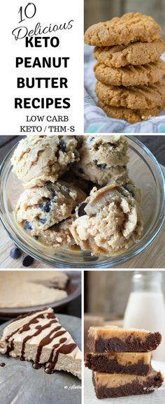 10 amazing keto peanut butter desserts - peanut butter seems to have a strange way of creeping into all of my dessert recipes. can anyone else relate? Peanut Butter Desserts, Sugar Free Desserts, Low Carb Desserts, Low Carb Recipes, Dessert Recipes, Meal Recipes, Ketogenic Diet, Ketogenic Recipes, Lchf Diet