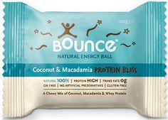 Bounce Balls Coconut Macadamia Protein Bliss Single 40G - Amcal Chempro Online Chemist