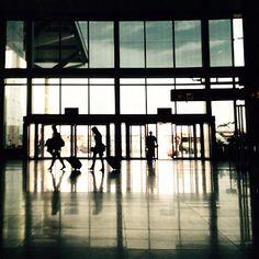 Malaga airport by Ah