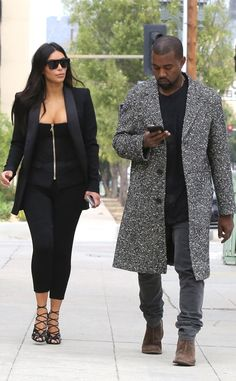 Kim Kardashian and Kanye West are the definition of power couple in Los Angeles.