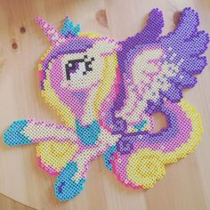 My Little Pony perler beads by imakeperlersoidontkillpeople