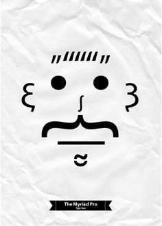 Myriad Pro. Type Face