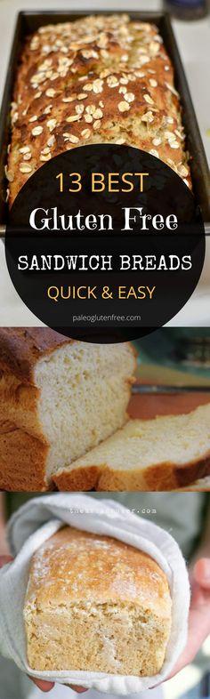 Easy gluten free bread recipes.