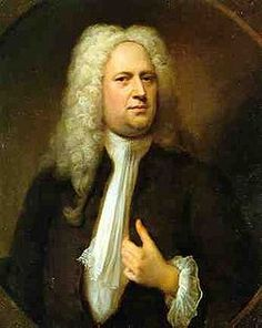 George Frideric Handel (1685 – 1759) was a German-born British Baroque composer, famous for his operas, oratorios, anthems and organ concertos. He received critical musical training in Halle, Hamburg and Italy before settling in London (1712) and becoming a naturalised British subject in 1727. By then he was strongly influenced by the great composers of the Italian Baroque and the middle-German polyphonic choral tradition.