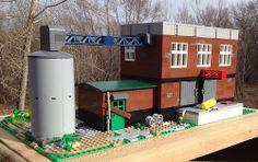 Lego MOC Derelict Factory