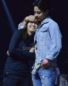 This is the handsome Daniel Padilla and the pretty Kathryn Bernardo smiling for the camera while embracing each other during rehearsals for ASAP Live in New York held at the Barclays Center last September 3, 2016. Indeed, Kathryn is one of my favourite Kapamilyas, and she's an amazing Star Magic talent. #KathrynBernardo #TeenQueen #ASAPLiveinNewYork