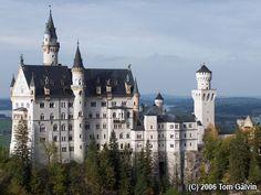 Neuschwanstein-This castle Walt Disney used as a model for Cinderella's castle.