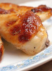 Sugar & Spice by Celeste: Lemony Honey Butter Glazed Chicken