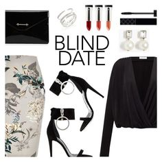 """Dress to Impress: Blind Date"" by dressedbyrose ❤ liked on Polyvore featuring River Island, Samsøe & Samsøe, Off-White, M2Malletier, J.Crew, Adriana Orsini, Terre Mère, Gucci, polyvoreeditorial and blinddate"