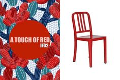 IFD2 Cadeira Lucce - Vermelha www.pinterest.com/ifd2  #ifd2 #red #collection #chair #cadeira #homedecor #inspired #decoration #details #style #atouchofred #reference #estilo #home #design