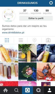 Bom dia! Não se esqueça que estamos também no instagram www.instagram.com/drink6sumos #drink6 #detox #saúde