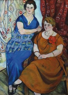 Suzanne Valadon (1865-1938), Les Dames Rivière, 1924, huile sur toile, 100 x 74 cm. Frais compris : 168 640 €. Jeudi 21 janvier, salle V.V. Doré & Giraud - Sélection Enchères SVV. MM. Millet, Menozzi, cabinet Ottavi M.