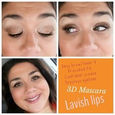 Here is my look for today! To get yours... go to www.fabulashbyizzy.com #youniquelooks #3dFiberMascara #makeup