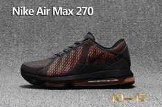 buy popular 1e84c 40840 Newest Nike Air Max 270 Carbon Black Orange