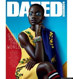 lupita nyongo on cover dazed and confused - she is amazing as well as gorgeous, one of my new favorite actresses.