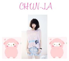 """CHUN-JA"" by kpopgirls ❤ liked on Polyvore featuring art"