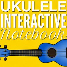 This growing interactive activity notebook will guide you and your students through the learning process of playing ukulele! Lock In This Price! You will receive future units free of charge when you buy the current version (the price of this resource will increase to reflect the added units).