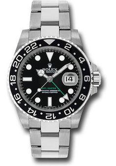 Rolex Watches: GMT-Master II Steel 116710LN