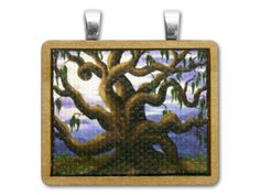 Natural Mystic Wood Pendant