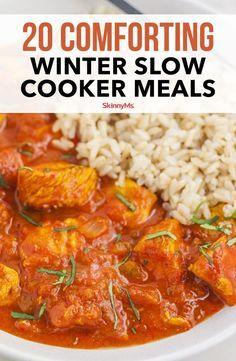 20 Comforting Winter Slow Cooker Meals