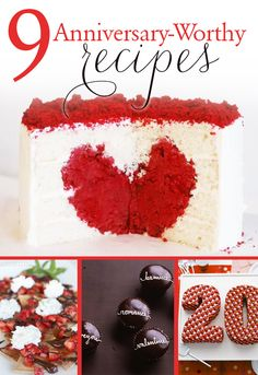 AWESOME recipes for anniversary night!