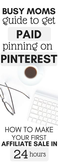 How to work from home on Pinterest and make REAL money, without a blog! The exact steps I took to make my first affiliate sale within 24 hours! #afflink #workfromhome #makemoneypinning #busymoms