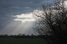 Wolkenbild im Münsterland