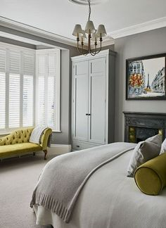 sweet magnet bedrooms wardrobes. Panelling on cupboard instead of walls  Grey white tones work well with colour accents 15 Youthful Bedroom Color Schemes What Works and Why Bright