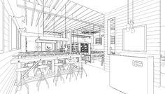 Interiors Sketch.