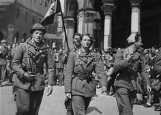 Liberation Of Milan, Italian Partisans Parade On May 6Th 1945 - pin by Paolo Marzioli