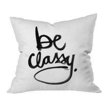 Always stay classy!
