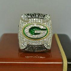 Green Bay Packers 2010 NFL Super Bowl Championship Ring for Sale Click Bio to Buy #packers #greenbaypackers #gopackers #GoPackGo #greenbaypackersfan #aaronrodgers #PackersNation #packersfan #packerswin #packers4life #packerspride #packersfootball #packersforlife #championshipring #superbowl #NFL #football #nflmemes #footballgame #nfldraft #superbowl50 #superbowl51 #nfl2016 #nflfootball
