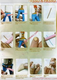 Toy Story Theme, Toy Story Birthday, Fondant Figures, Clay Figures, Bolos Toy Story, Sculpting Tutorials, Clay Tutorials, Toy Story Cakes, Clay Mugs