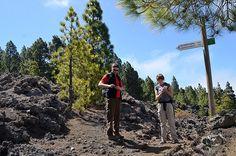 Trail finding, Walking La Palma